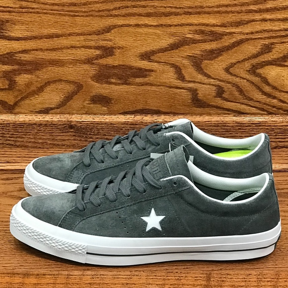 089dd15fabd3 Converse One Star Suede Ox Thunder White White